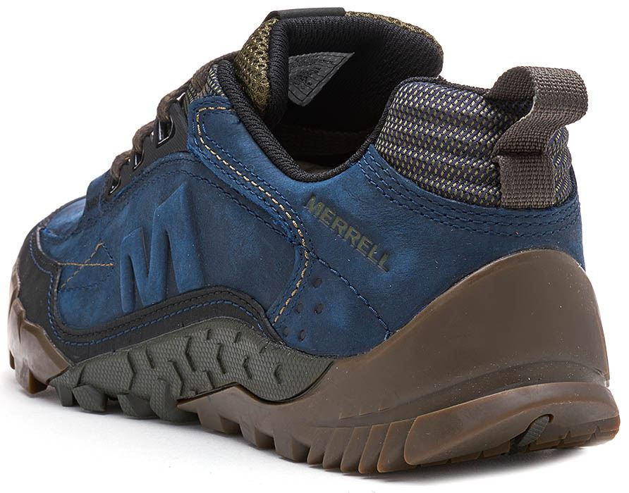 Merrell-Annex-Track-Low-Trainers-in-Cloudy-amp-Clay-Brown-amp-Sodalite-Blue thumbnail 16