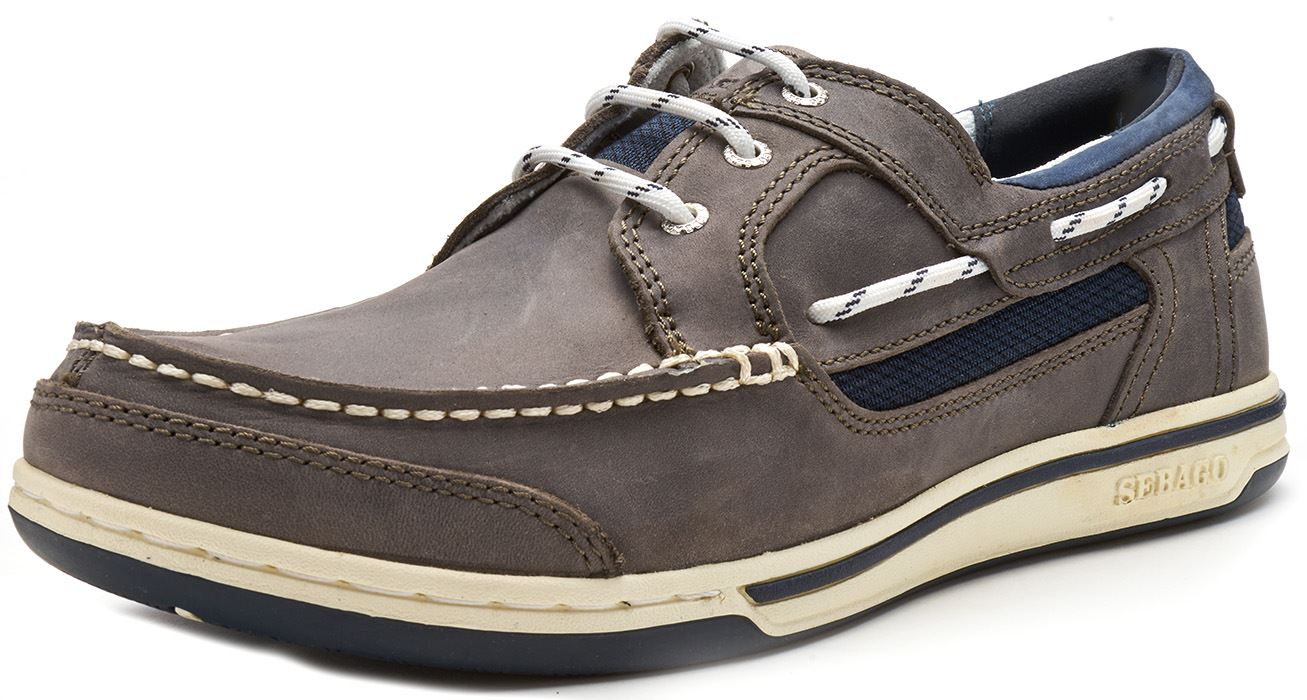 Sebago-Triton-Three-Eye-FGL-Suede-Boat-Deck-Shoes-in-Navy-Blue-amp-Brown-Cognac thumbnail 11