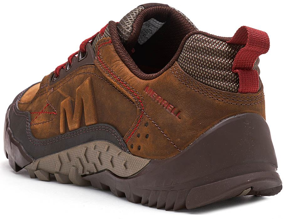 Merrell-Annex-Track-Low-Trainers-in-Cloudy-amp-Clay-Brown-amp-Sodalite-Blue thumbnail 8