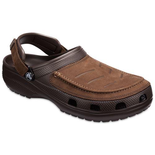 Crocs-Yukon-Vista-Roomy-Fit-clog-shoes-sandals-dans-Espresso-Khaki-amp-BLACK-205177