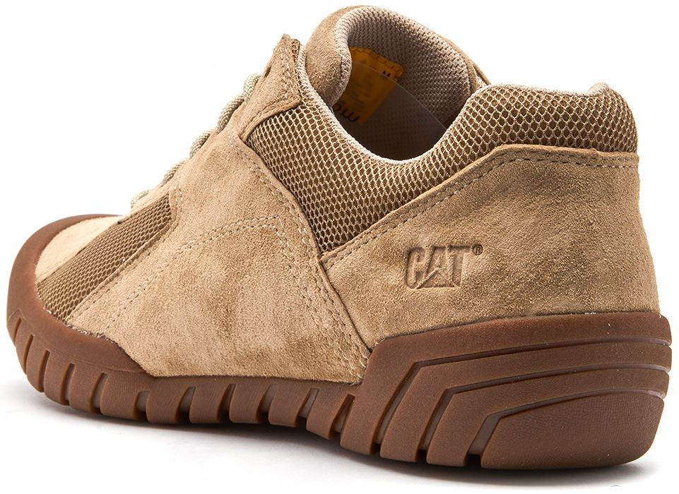 Caterpillar-CAT-Haycox-Shoes-Leather-Casual-Trainers-in-Brown-Taupe-amp-Grey thumbnail 16