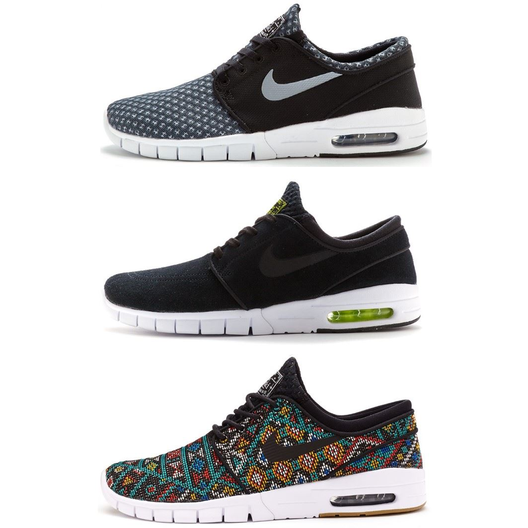 the latest 89e70 2e348 Details about Mens Nike Zoom SB Stefan Janoski Max Suede   Premium Trainers  All Sizes