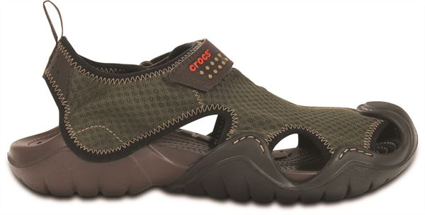 cc7f18211e82 Crocs Swiftwater Sandals in Black