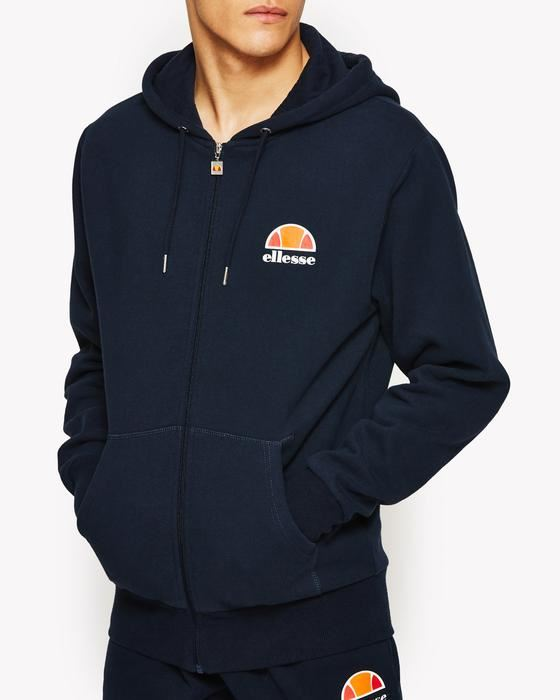 Ellesse-Miletto-Zip-Hoody-Top-Tracksuit-Sweatshirt-Jumper-Overhead-Fleece-Jacket