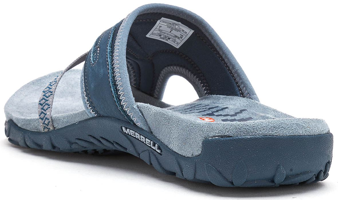 08cbedd31b4d Merrell Terran Post II Women Sandals in Slate Blue J98750
