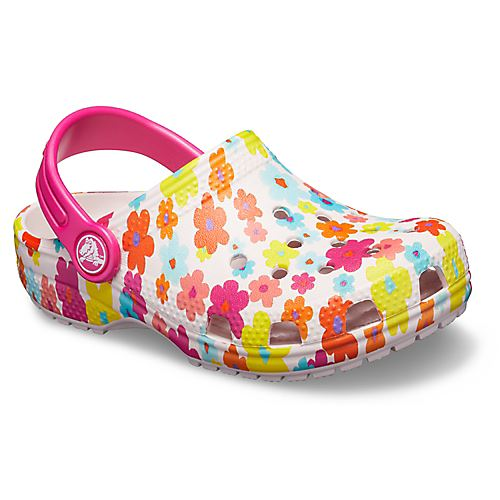 Crocs-Classic-Graphic-amp-Drew-Barrymore-Kids-Clogs-Shoes-Sandals-in-Wide-Colours thumbnail 4