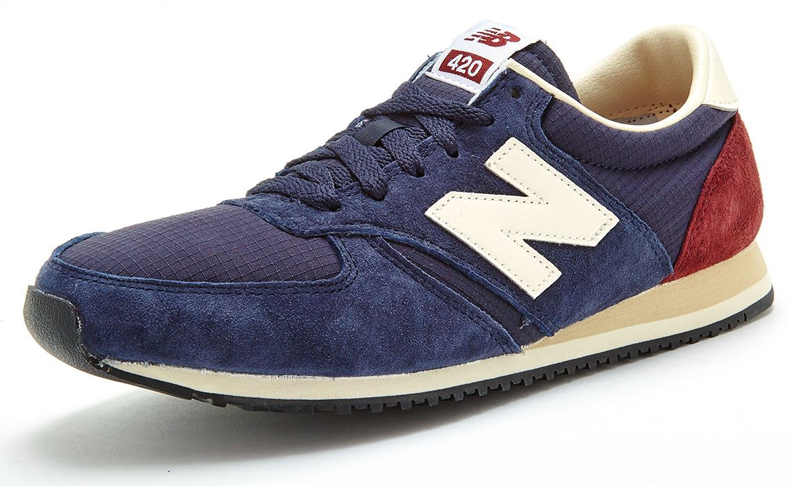 new balance 420 navy vintage trainers nz