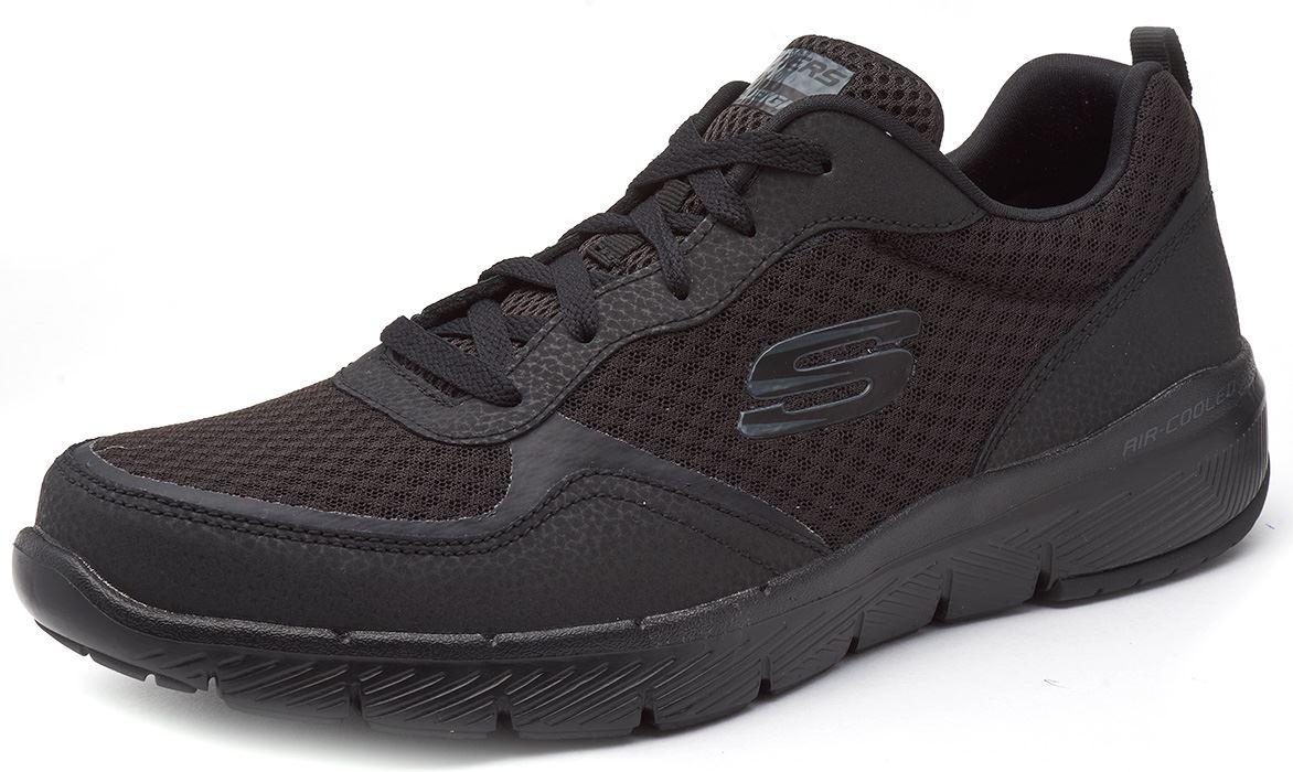 Skechers-FLEX-ADVANTAGE-3-0-con-Cordones-Fitness-Correr-Entrenadores-de-espuma-de-memoria miniatura 3