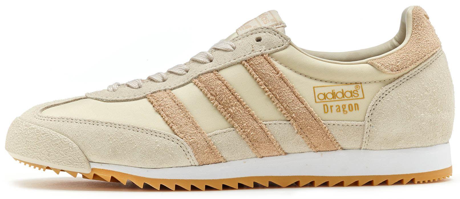 Adidas Originals Dragon Vintage Trainers en clara & Clay Marrón & Gum