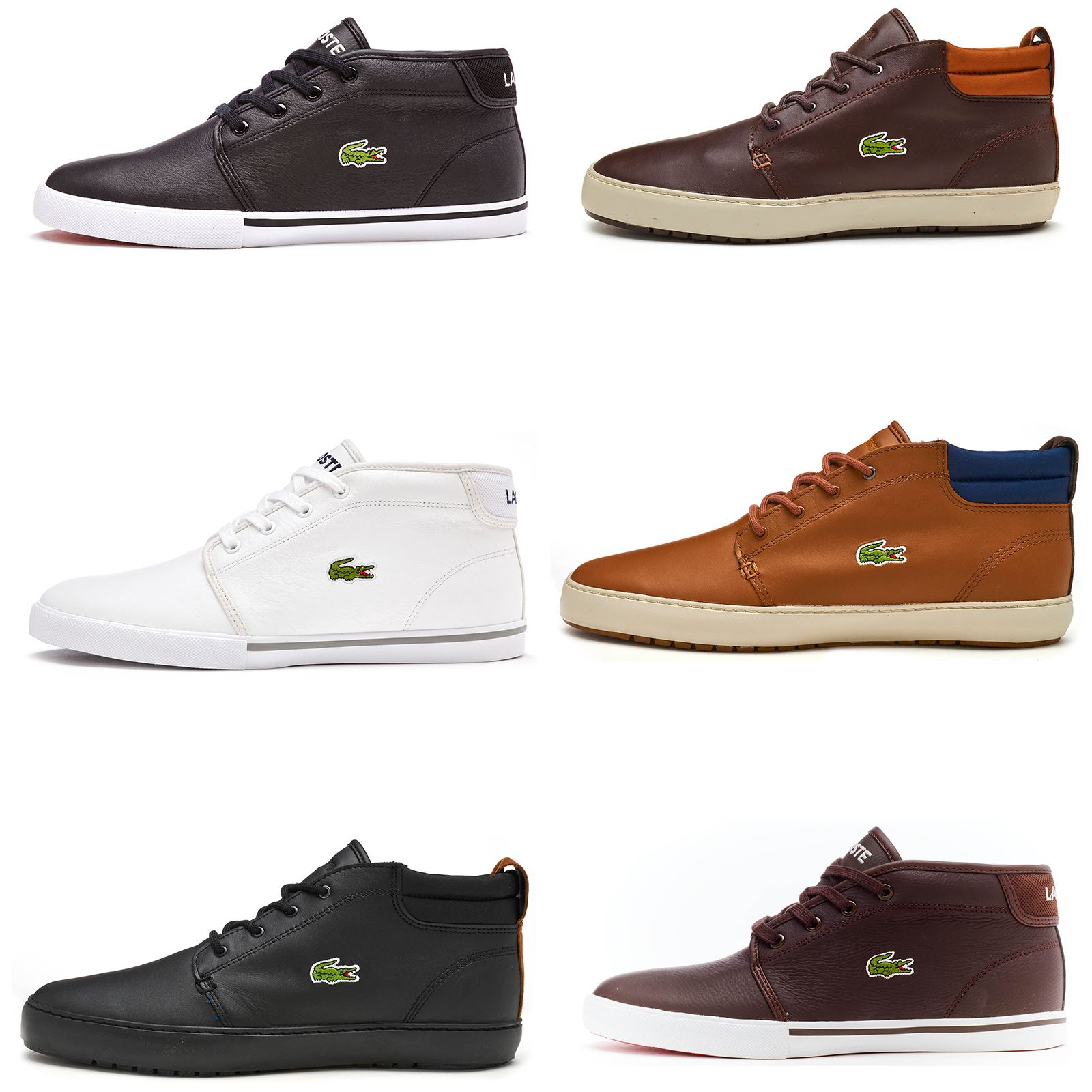 Lacoste Ampthill High Leather Trainers