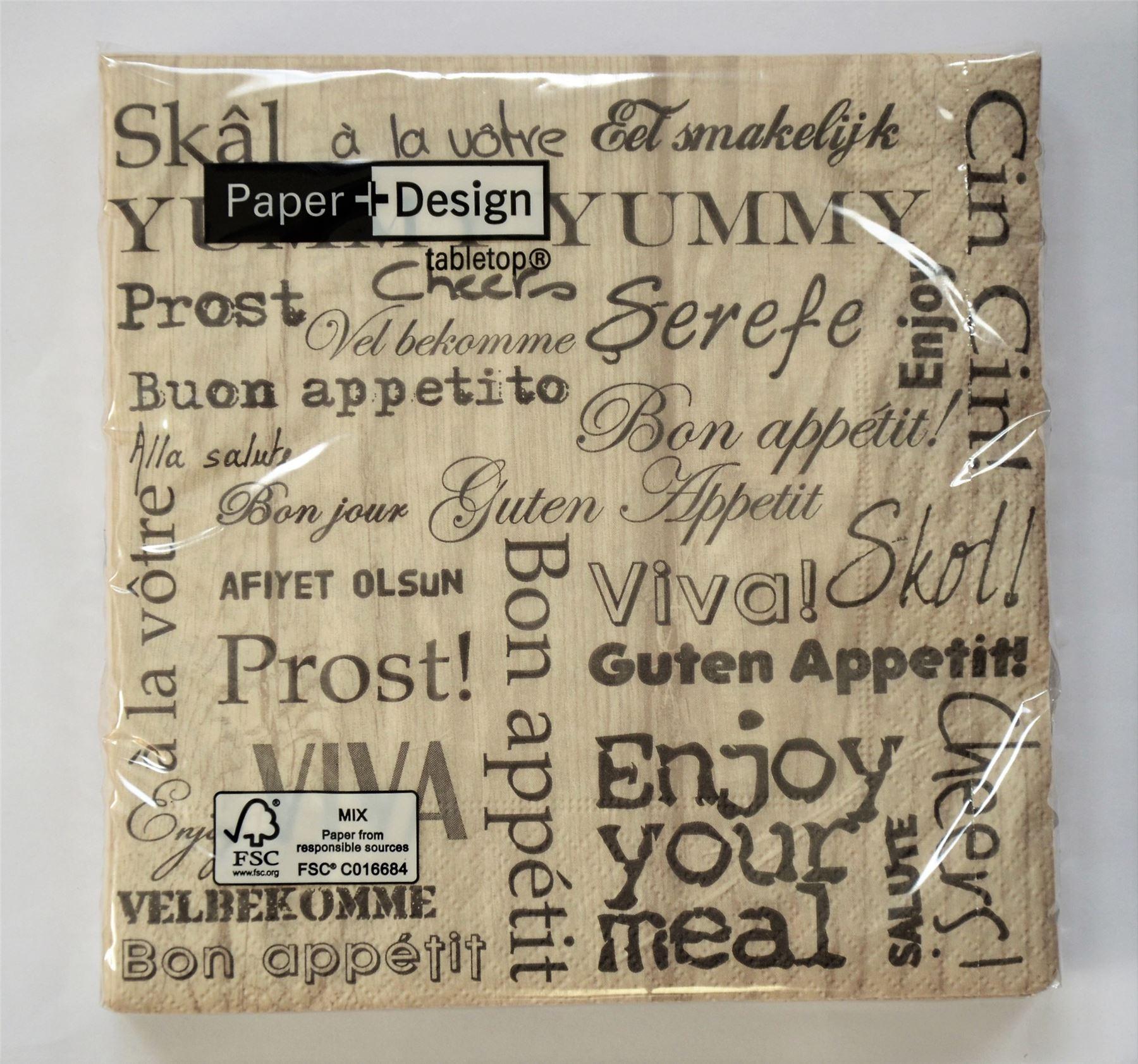 20 pck vintage decorative paper napkins decoupage craft - Decorative Paper Napkins