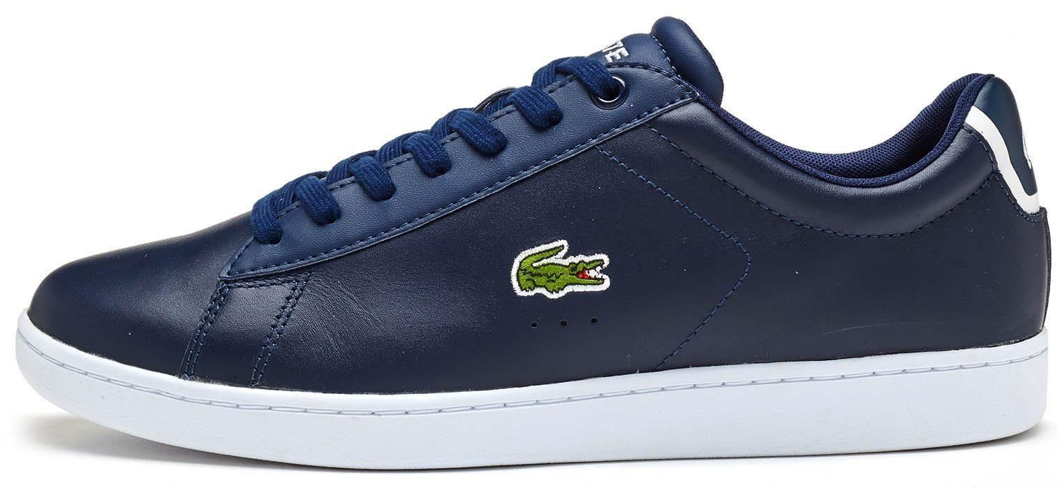 Lacoste Carnaby EVO Trainers 217 & 317 Leather Trainers EVO in White 881869