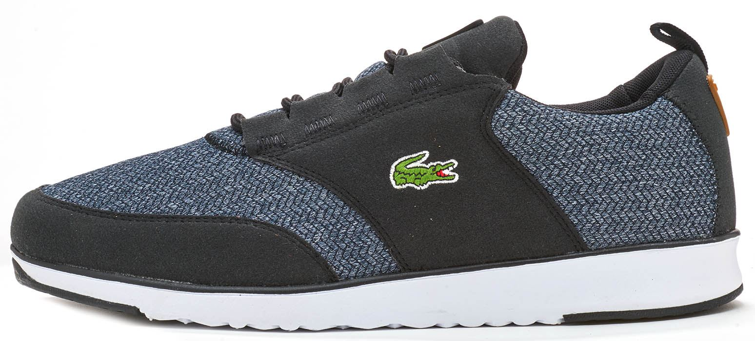 Lacoste L.ight 317 5 & 318 3 SPM Trainers in Grau Navy Blau & Dark Grau in a94382