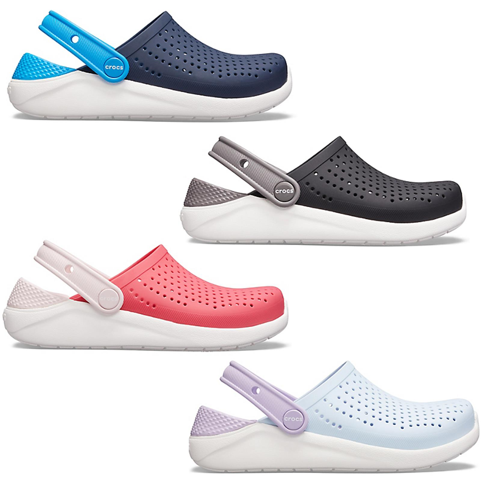 Crocs LiteRide Kids Clogs Shoes Relaxed