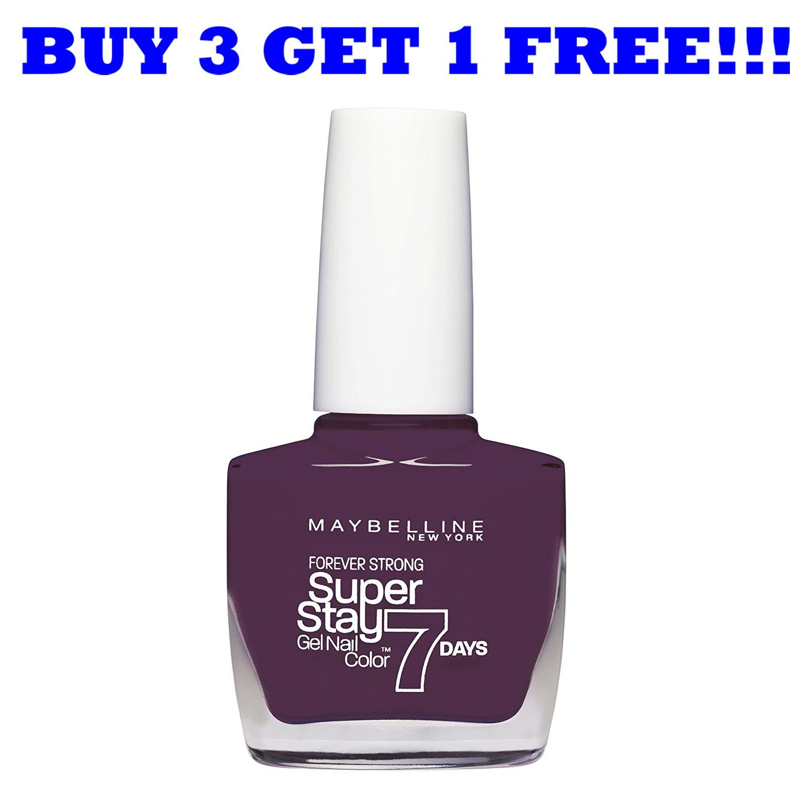 Maybelline Nail Polish Superstay 7 Days / Forever Strong Ever ...