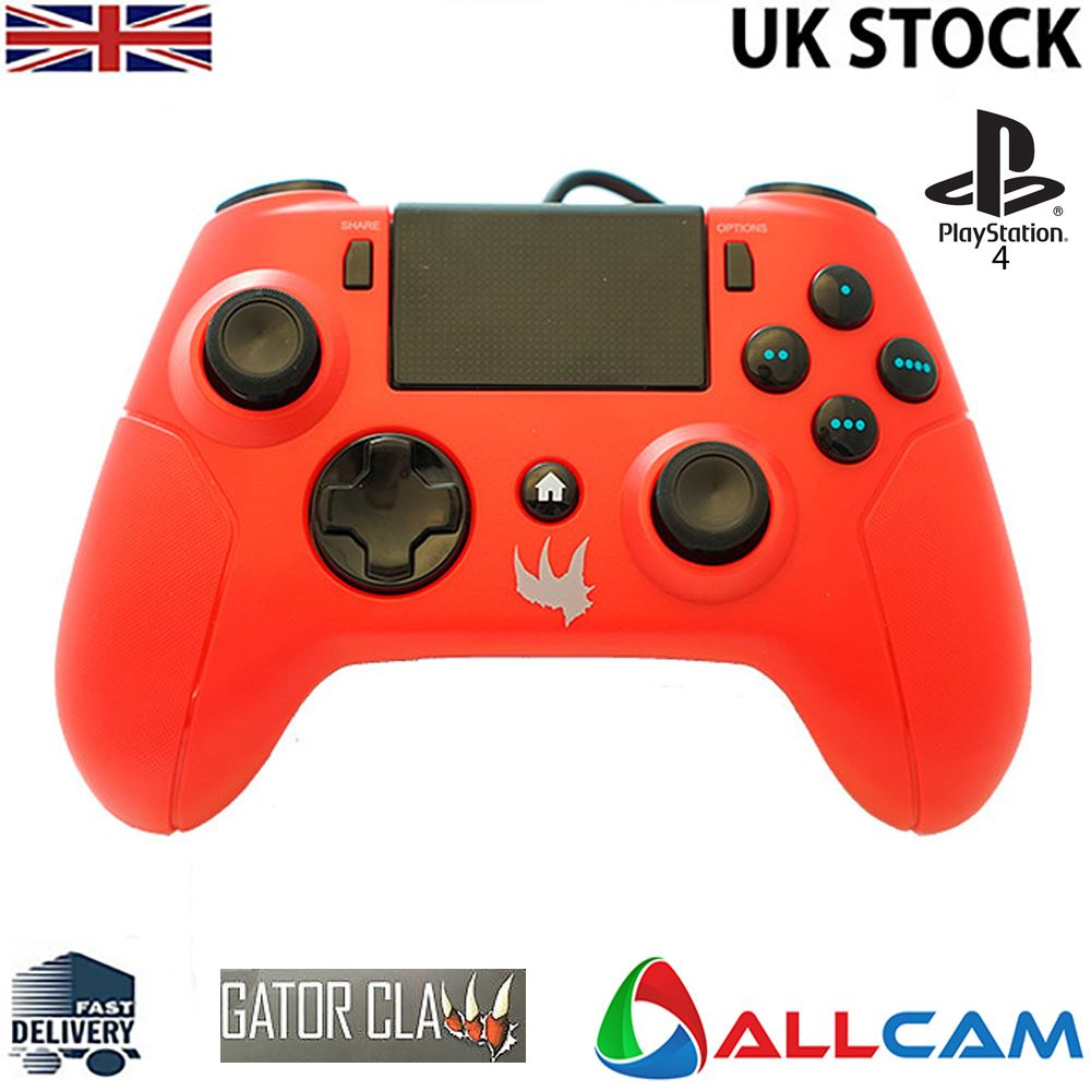 Gator-Claw-Wired-Controller-for-Sony-Playstation-PS4-w-Upgraded-Firmaware