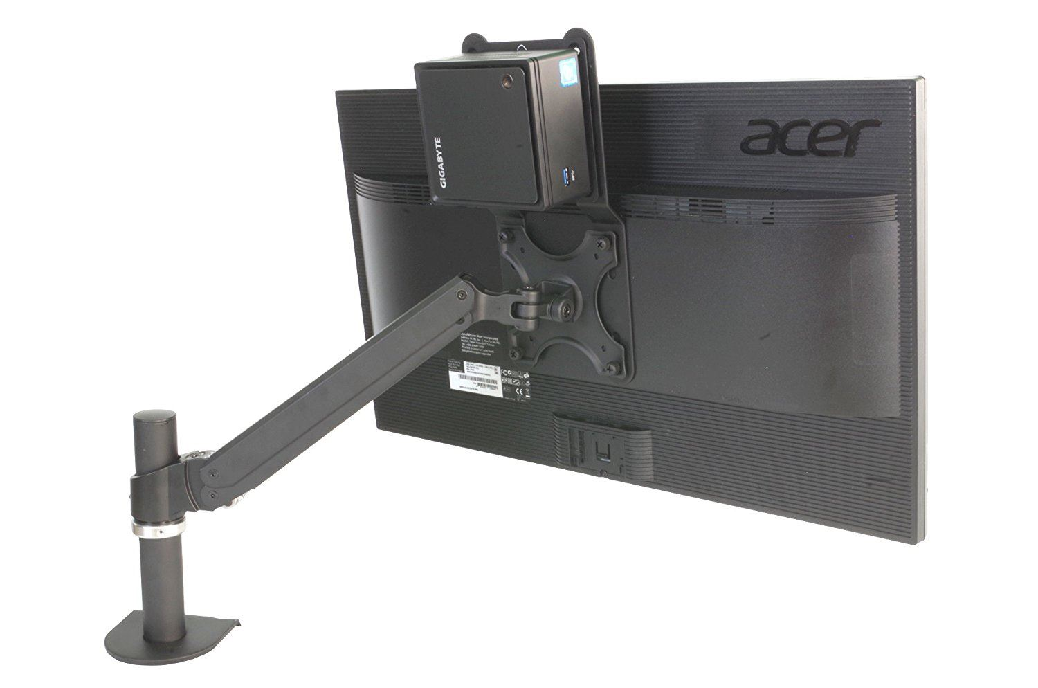 Allcam Professional Nuc Mini Cpu Holder Stand Vesa Mount