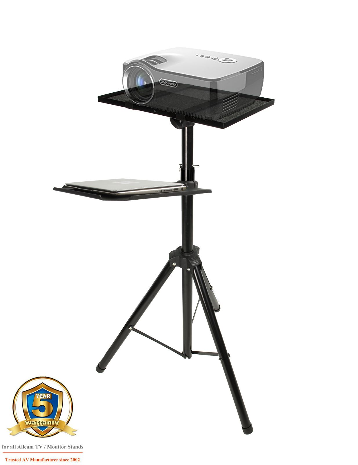 Universal Projector Stand Tripod Laptop Table Speaker Mount  # Kaorka Meuble Tv