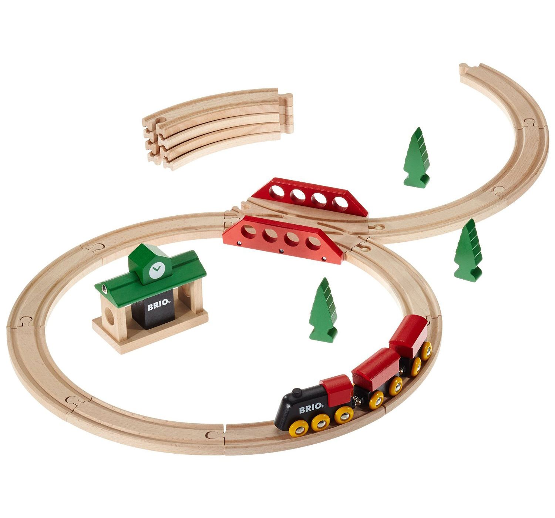 Brio CLASSIC FIGURE 8 SET Baby//Toddler//Kids Wooden Nursery Toy//Gift BN