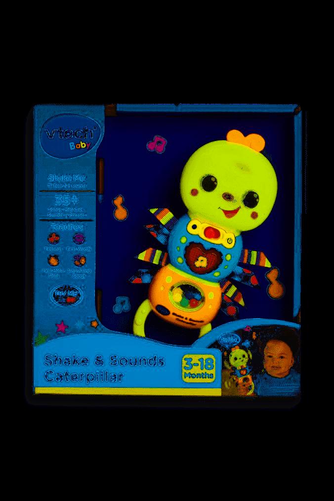 Vtech SHAKE /& SOUNDS CATERPILLAR Baby Activity Toy BNIP