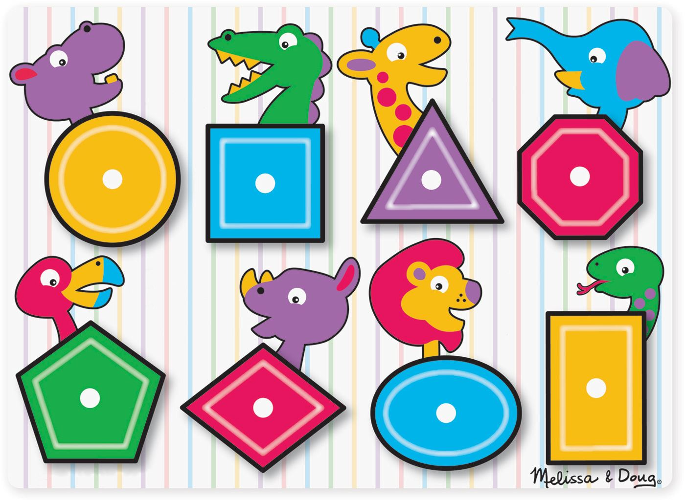 Melissa /& Doug SEE INSIDE WOODEN PEG PUZZLE//JIGSAW ALPHABET Toddler Toy//Gift BN