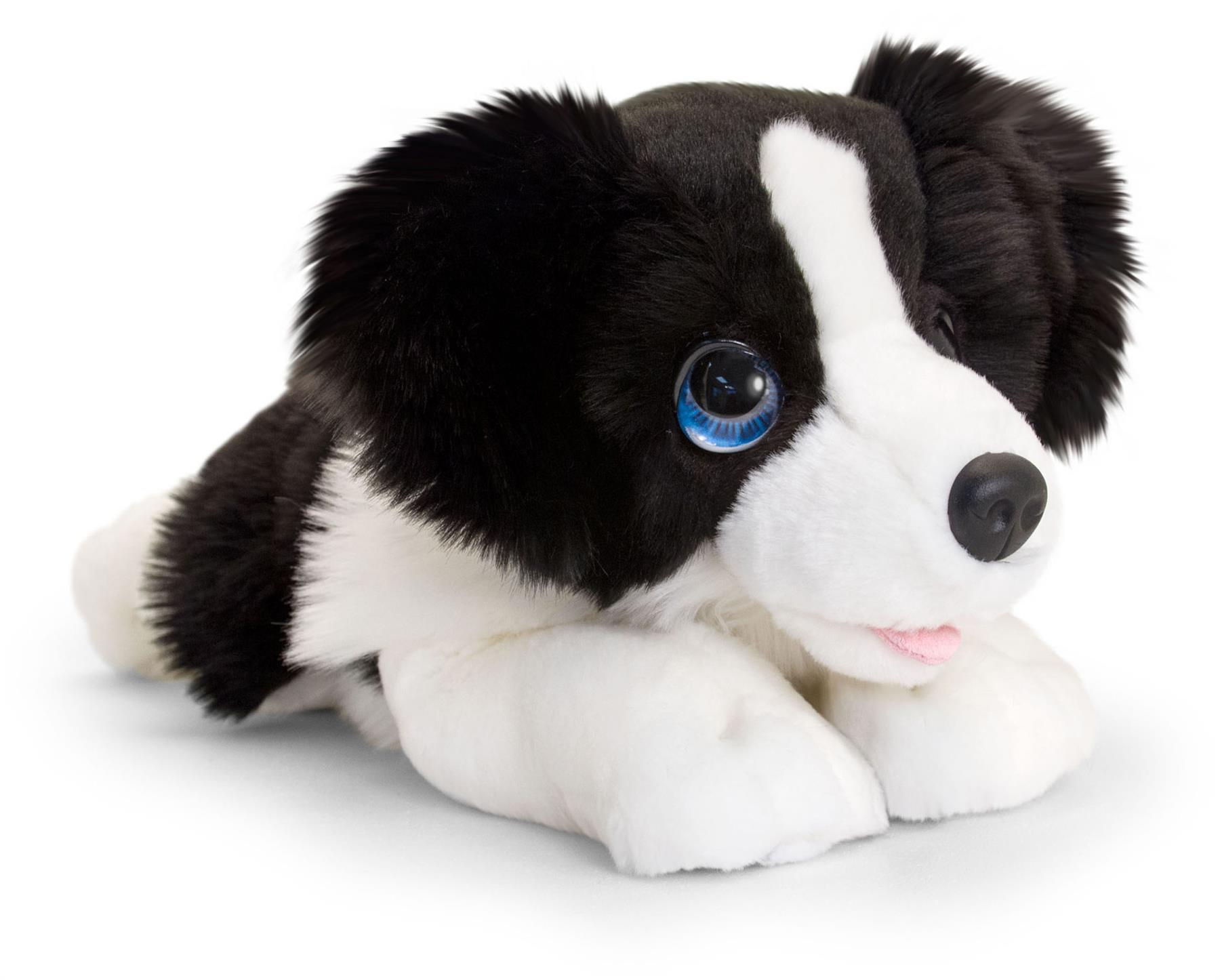 Keel Toys PIPPINS BORDER COLLIE 14CM Branded Soft Toy Stuffed Animal BN
