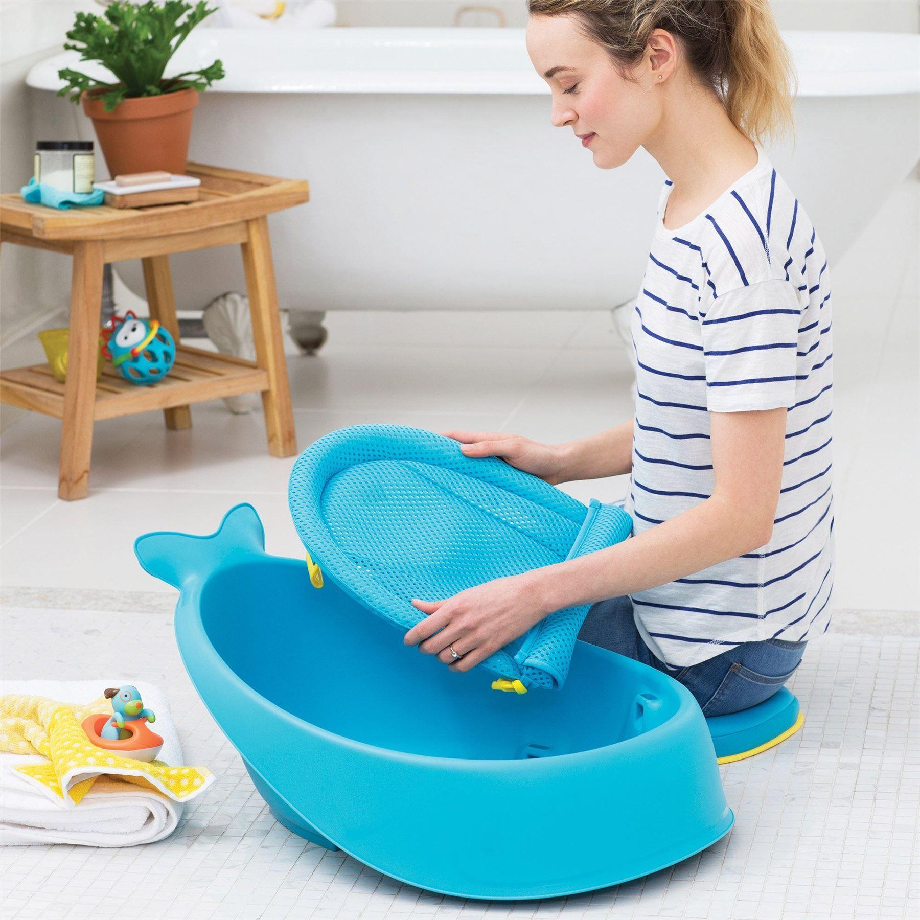 Moby Smart Sling 3-stage Baby Bath Tub 235465 Blue by Skip Hop | eBay