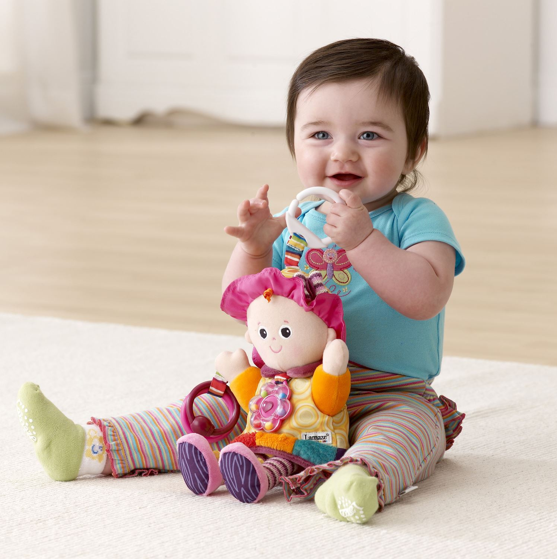 Lamaze PLAY /& GROW EMILY Baby//Child Developmental Activity Rattle//Soft Toy BNWT