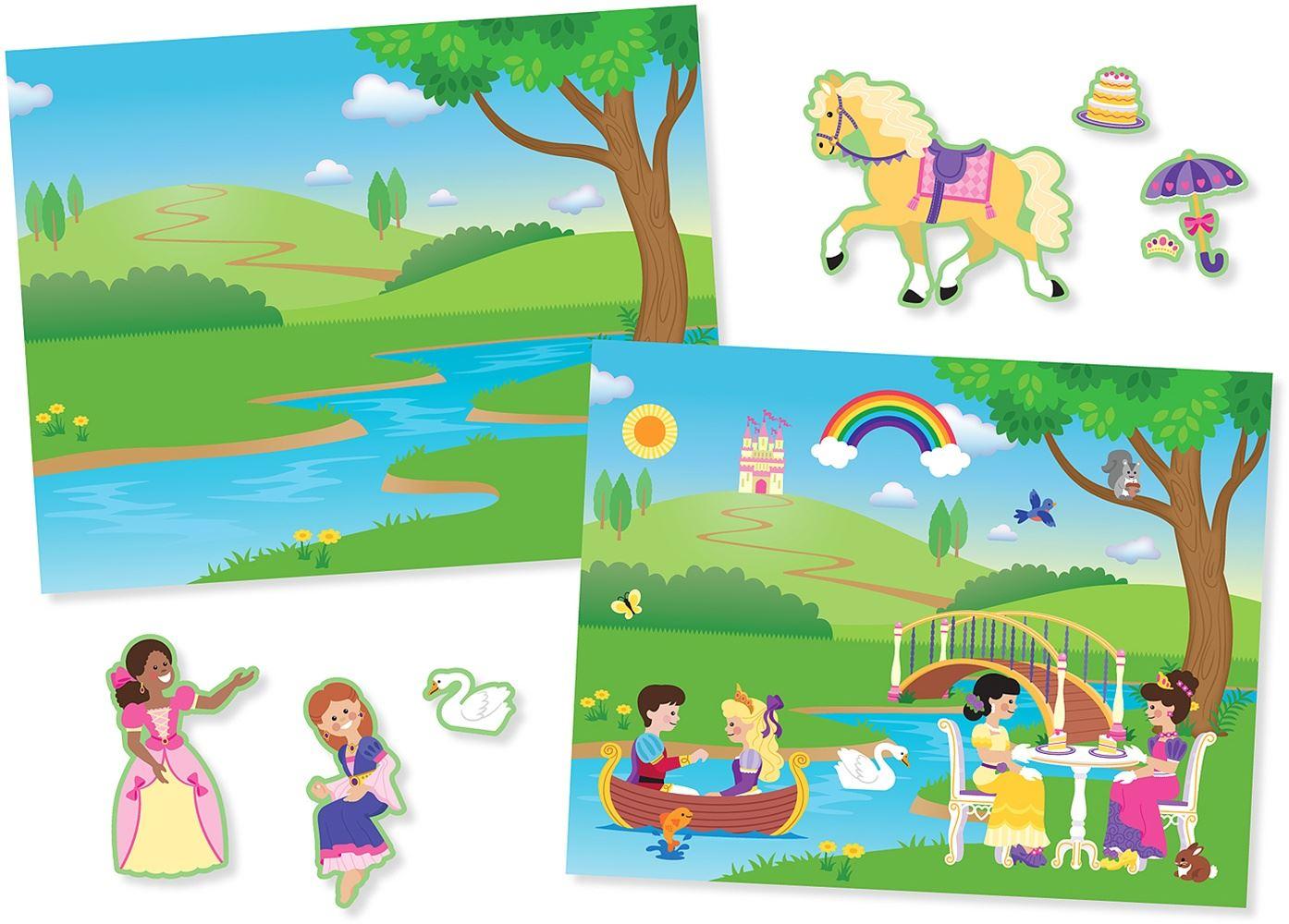 Melissa-amp-Doug-ALBUM-ADESIVI-RIUTILIZZABILI-Sticker-Libro-Bambino-Attivita-Nuovo miniatura 26
