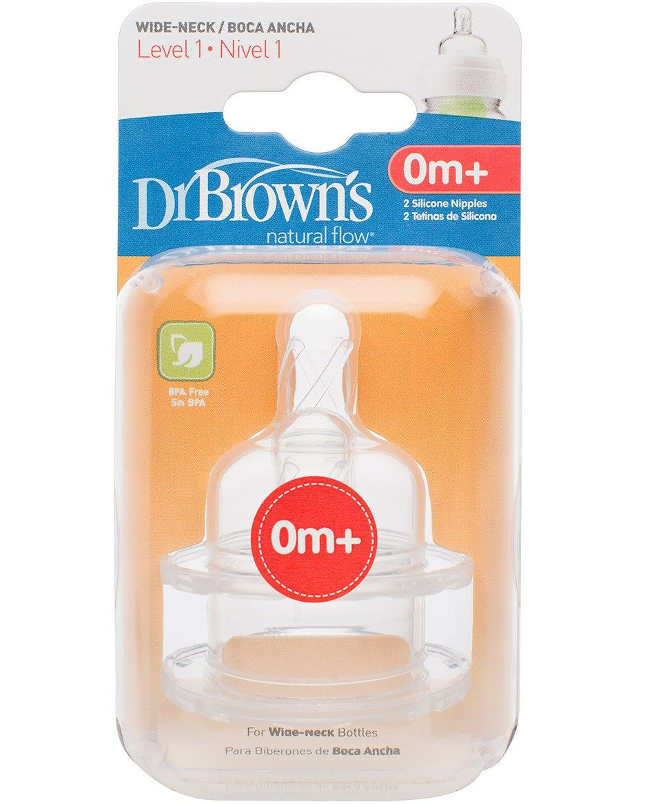 Dr-Browns-OPTIONS-WIDE-NECKED-TEATS-2-Pack-All-Sizes-Bottle-Feeding-BN thumbnail 7
