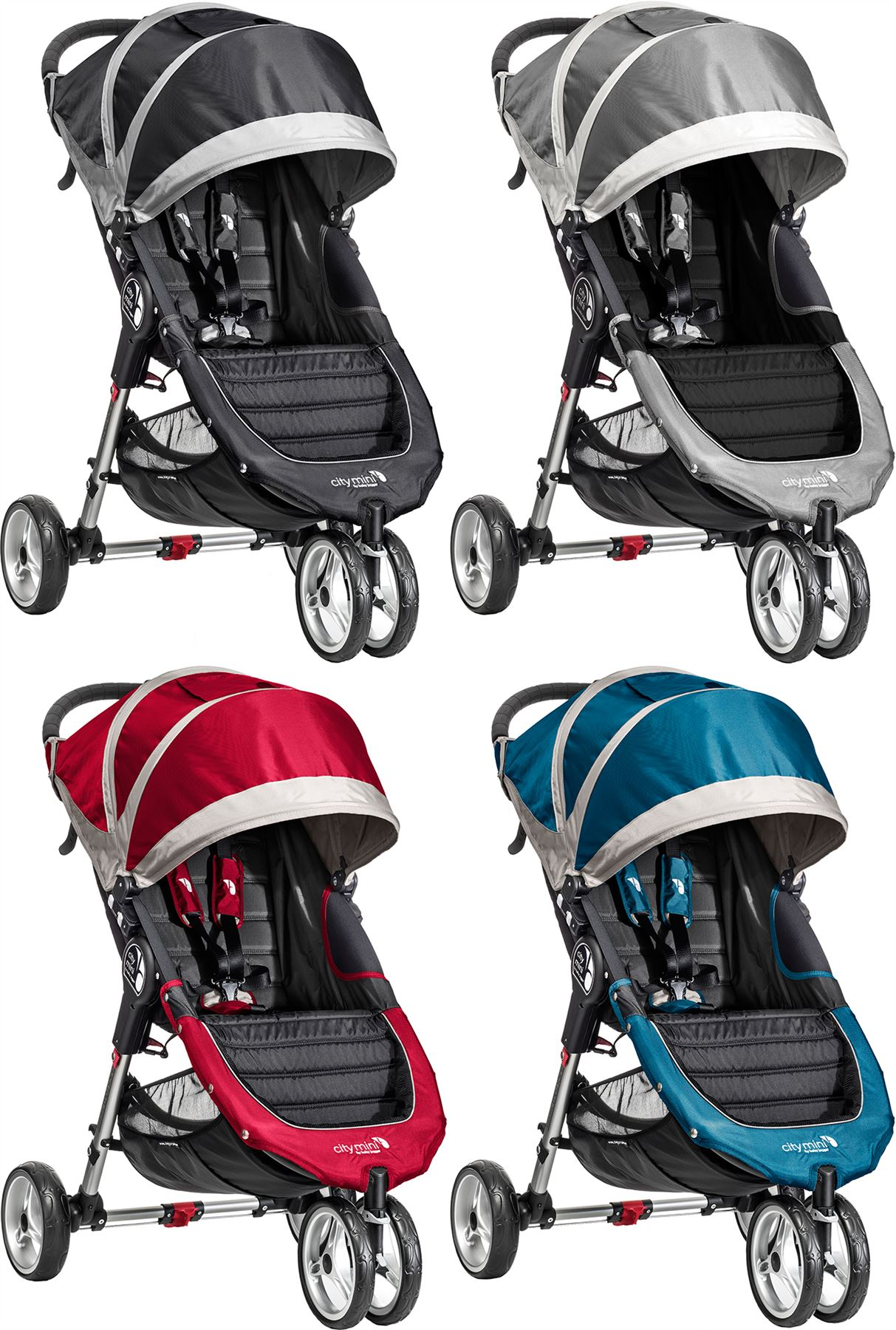 Details About Baby Jogger City Mini Single Stroller Buggy Pushchair Baby Travel Bn