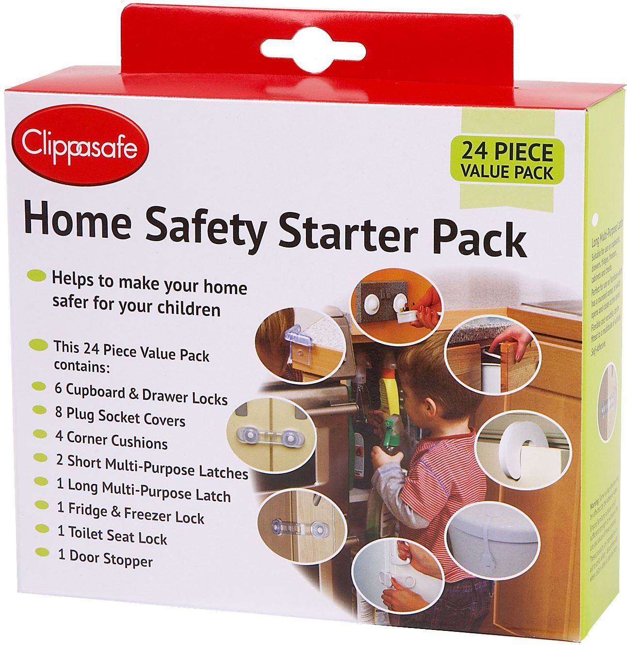 Clippasafe Y SPINDLES 2 PACK Baby Safety Gate BN