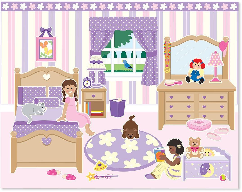 Melissa-amp-Doug-ALBUM-ADESIVI-RIUTILIZZABILI-Sticker-Libro-Bambino-Attivita-Nuovo miniatura 22