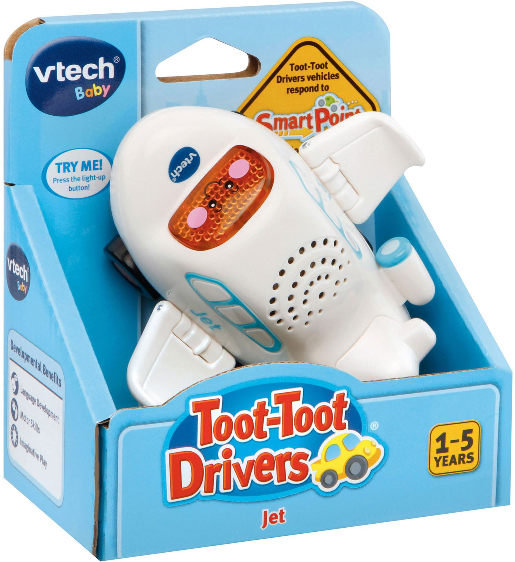 Vtech TOOT-TOOT DRIVERS JET Educational Preschool Young Child Toy BN