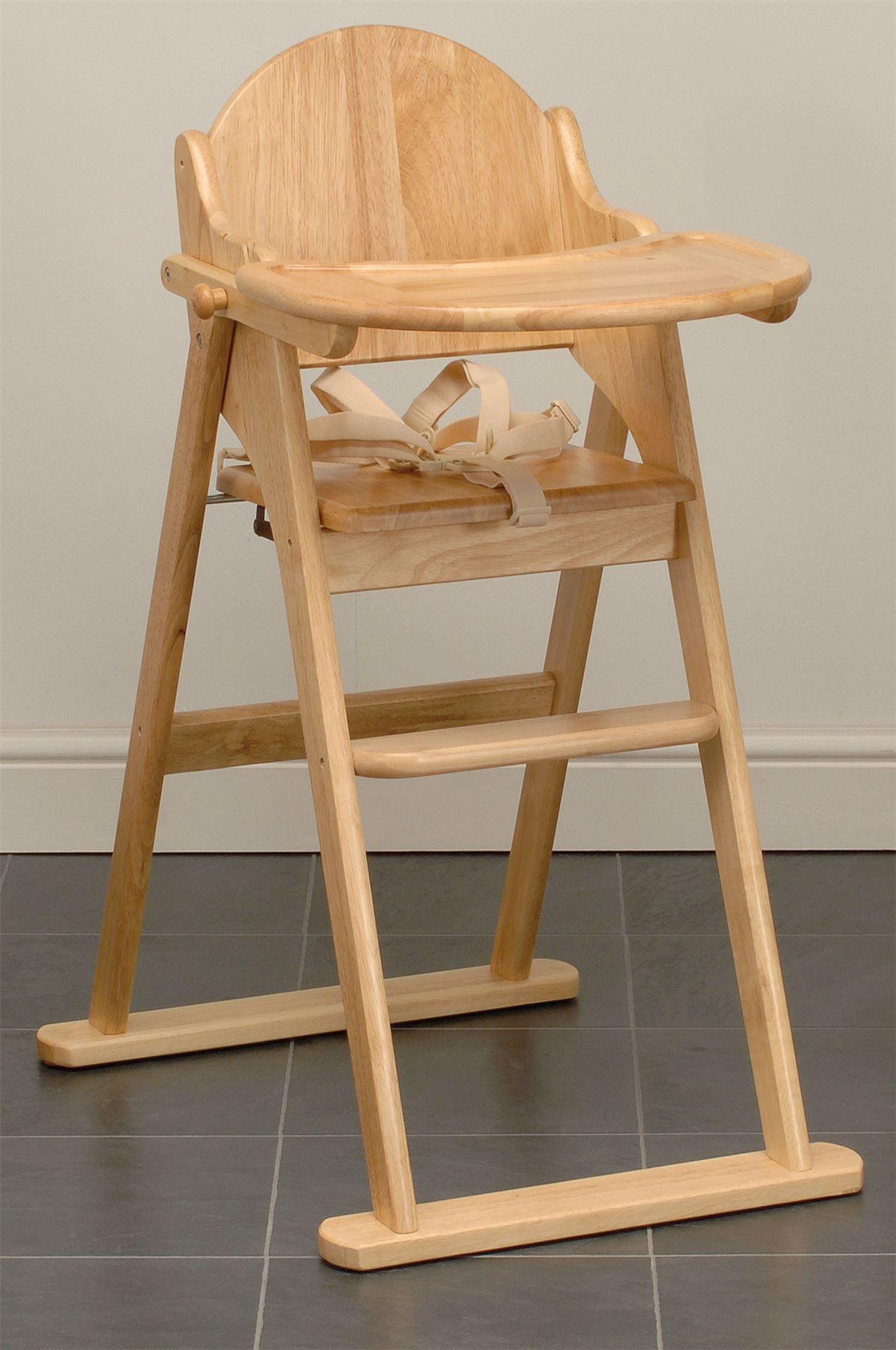 east coast faltbarer hochstuhl platzsparend kinderstuhl holz neu ebay. Black Bedroom Furniture Sets. Home Design Ideas