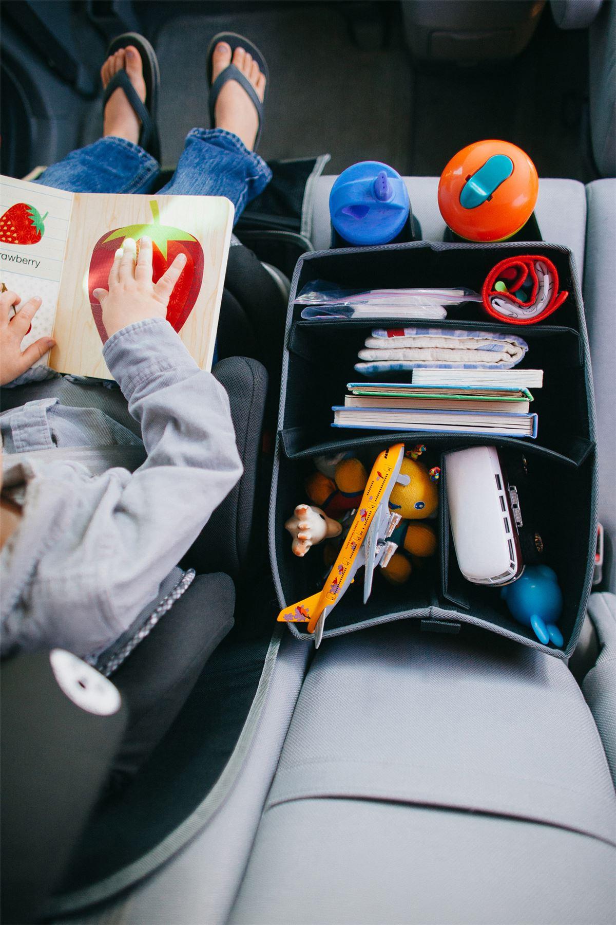 Prince Lionheart TRAVEL ORGANISER Baby Car Seat Accessory BNIB