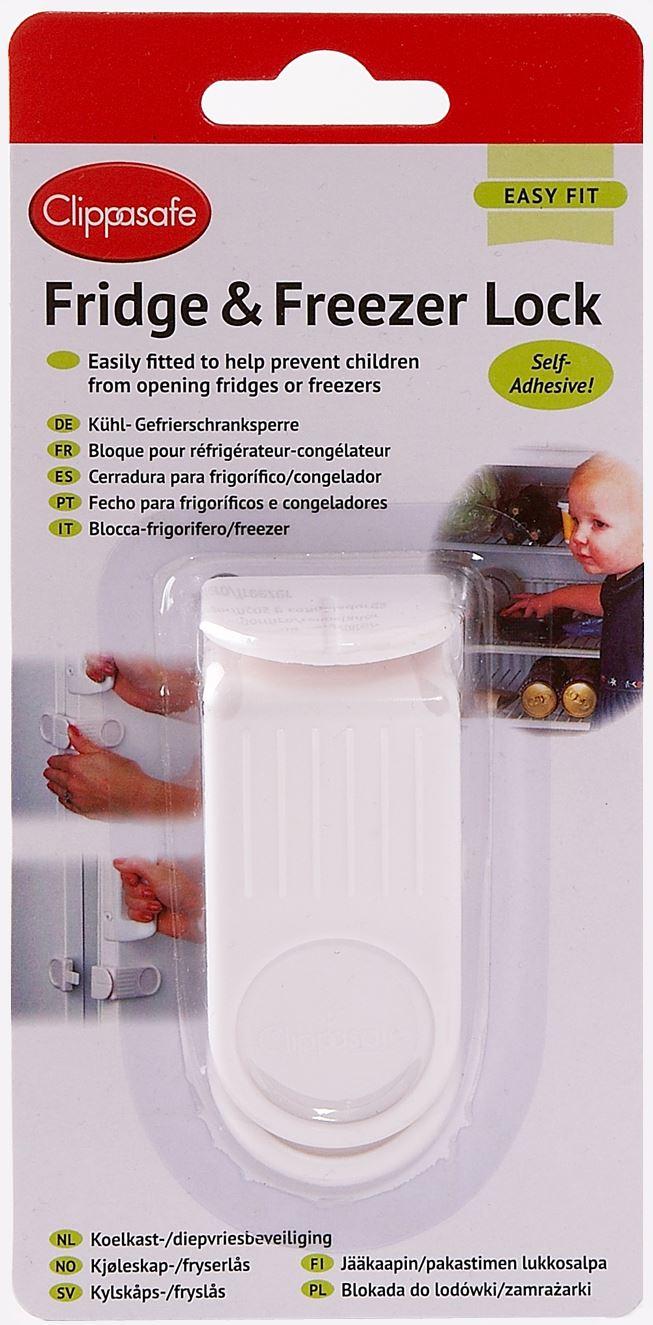 Clippasafe Fridge /& Freezer Latch Lock Child Baby Proofing Home Safety
