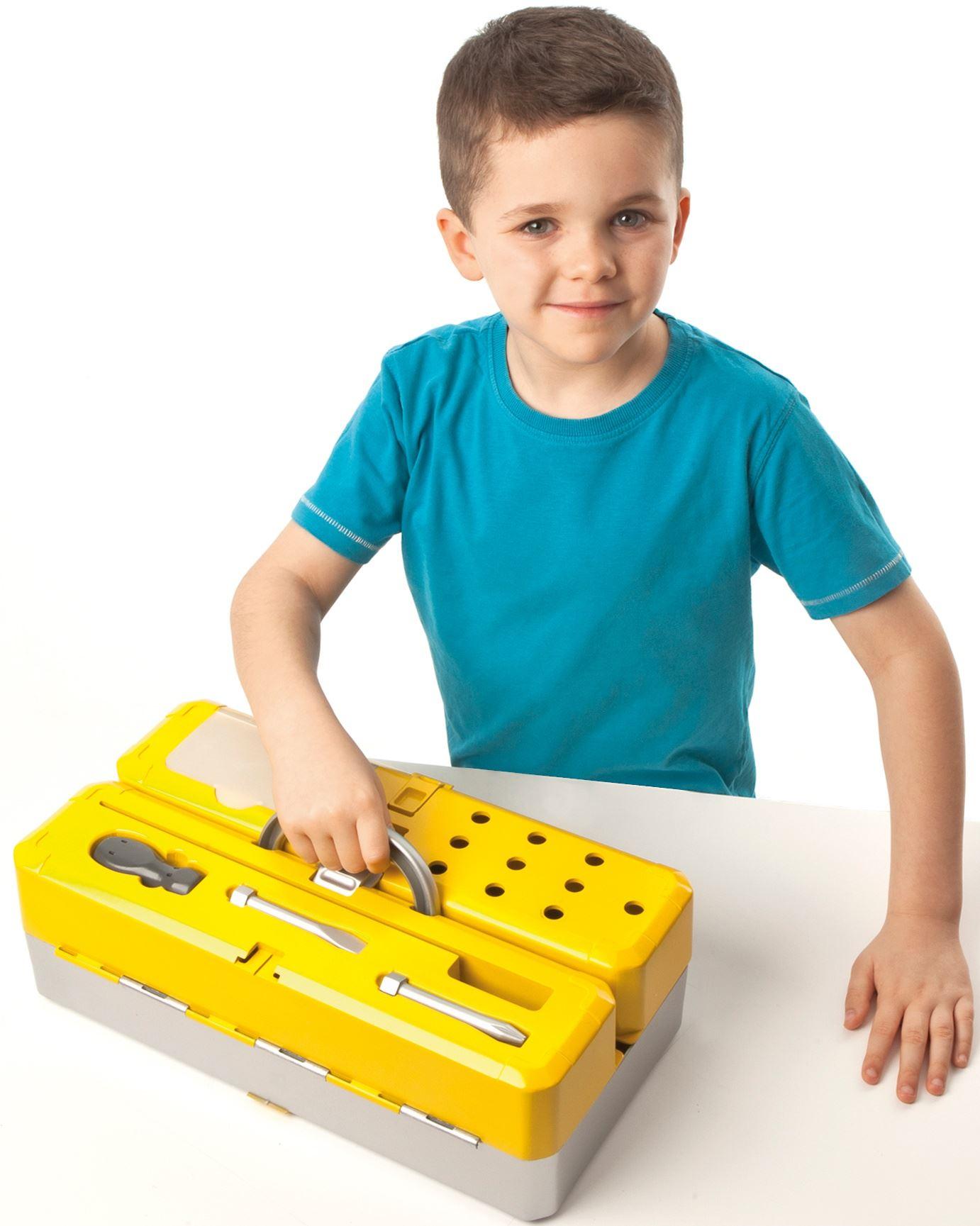 casdon boite a outils bricolage jeu r le jouet cadeau. Black Bedroom Furniture Sets. Home Design Ideas