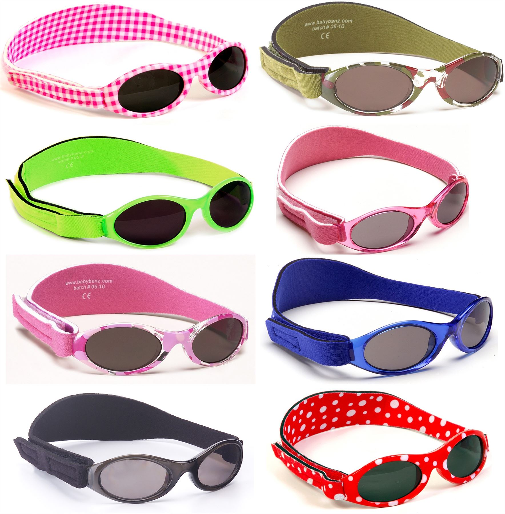 0-2 YRS 100/% UVA UVB NEW RETRO SUNGLASSES BABY BANZ
