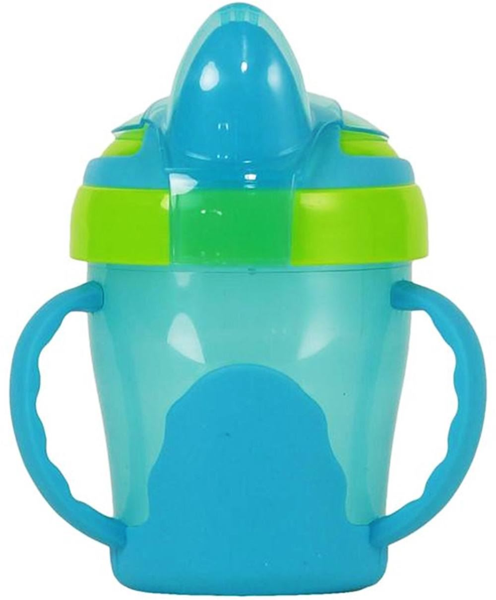 Vital-Baby-SOFT-SPOUT-TRAINER-CUP-200ml-With-Handles-Baby-Toddler-Feeding-BNIB
