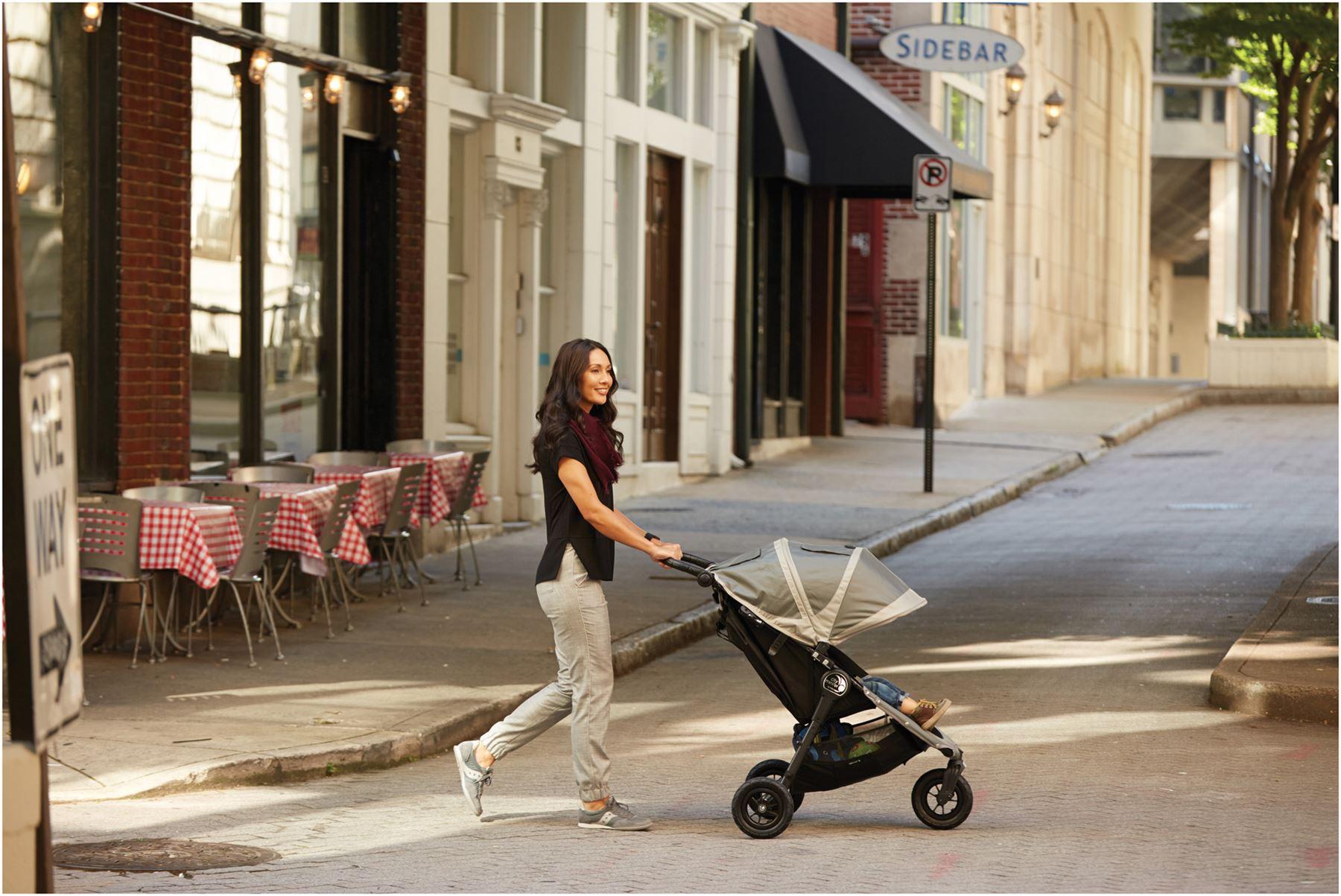 Baby Jogger CITY MINI GT SINGLE STROLLER STEEL GREY Pushchair Pram Buggy N 7
