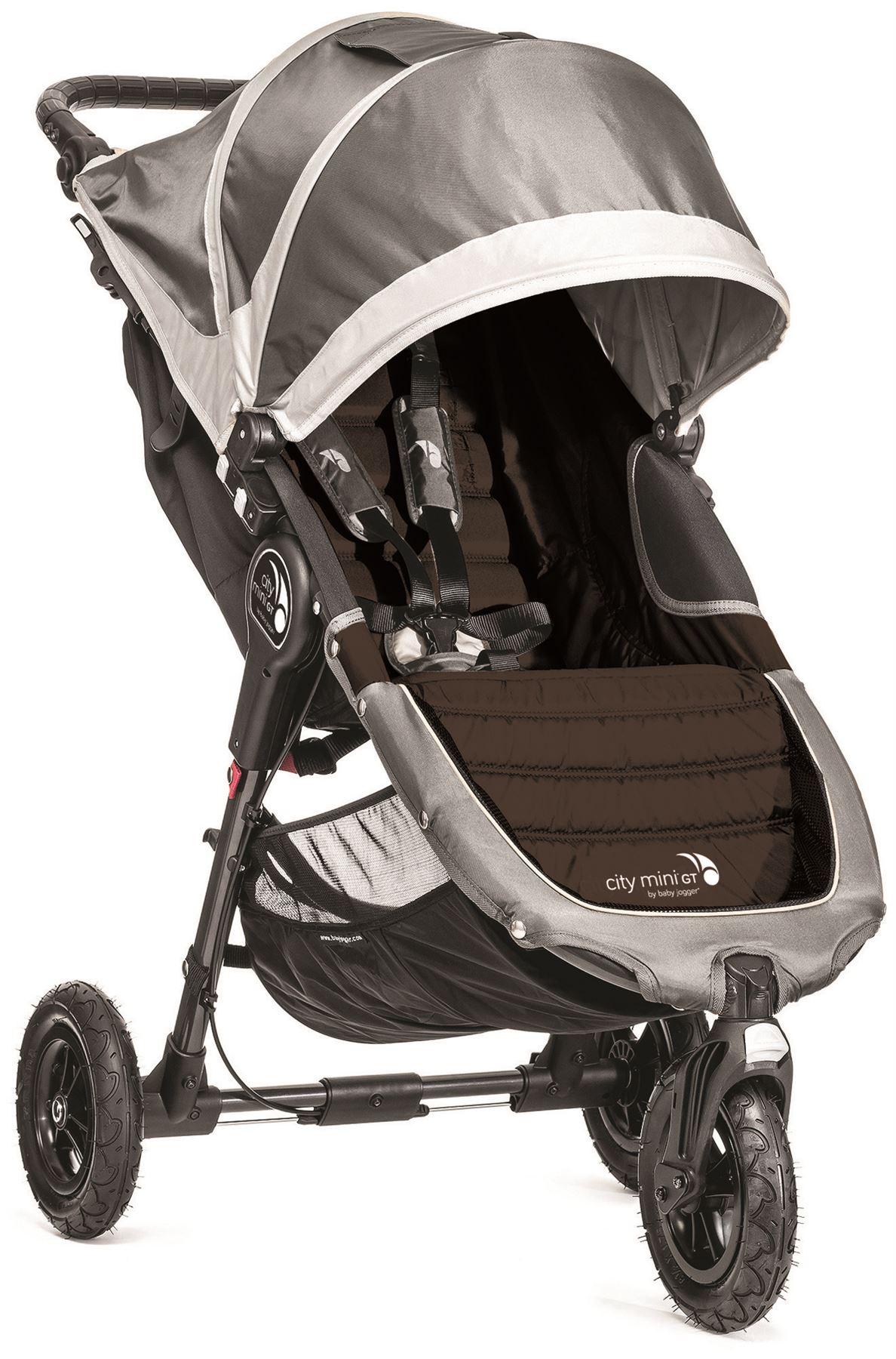 Baby Jogger CITY MINI GT SINGLE STROLLER STEEL GREY Pushchair Pram Buggy N