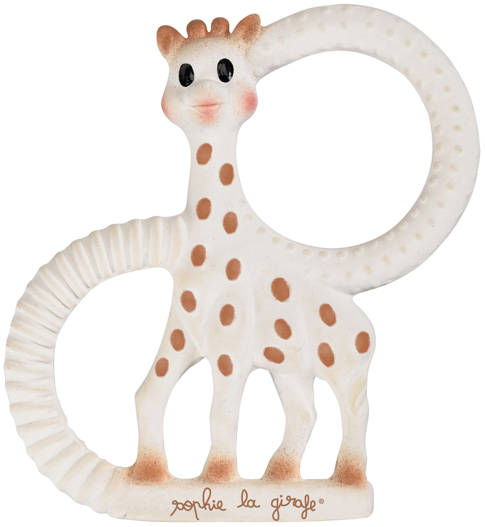 SOPHIE THE GIRAFFE COMFORTER WITH PACIFIER HOLDER Baby BN