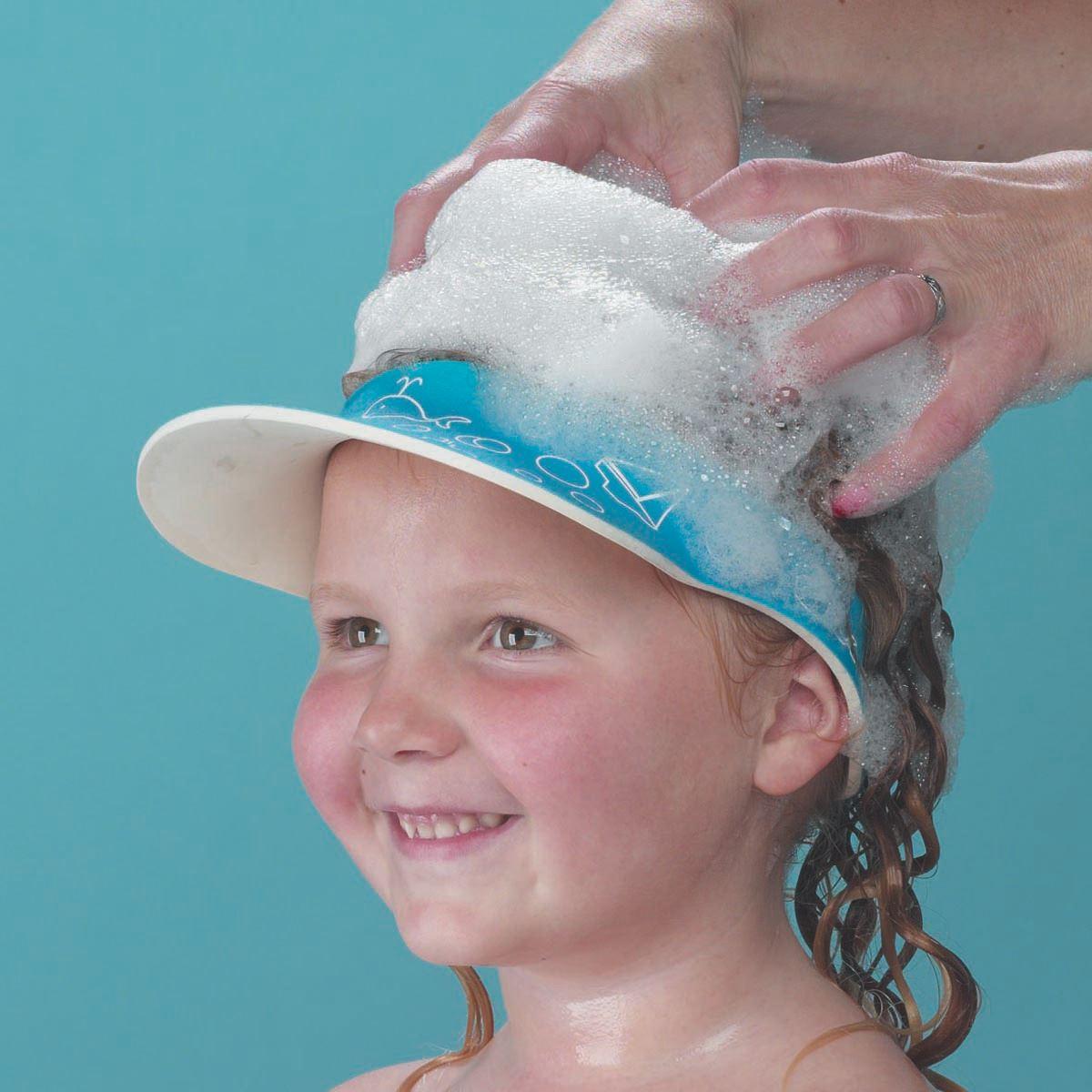 Clippasafe SHAMPOO AUGENSCHUTZ Kinder Schirm/Hut Haare waschen ohne ...