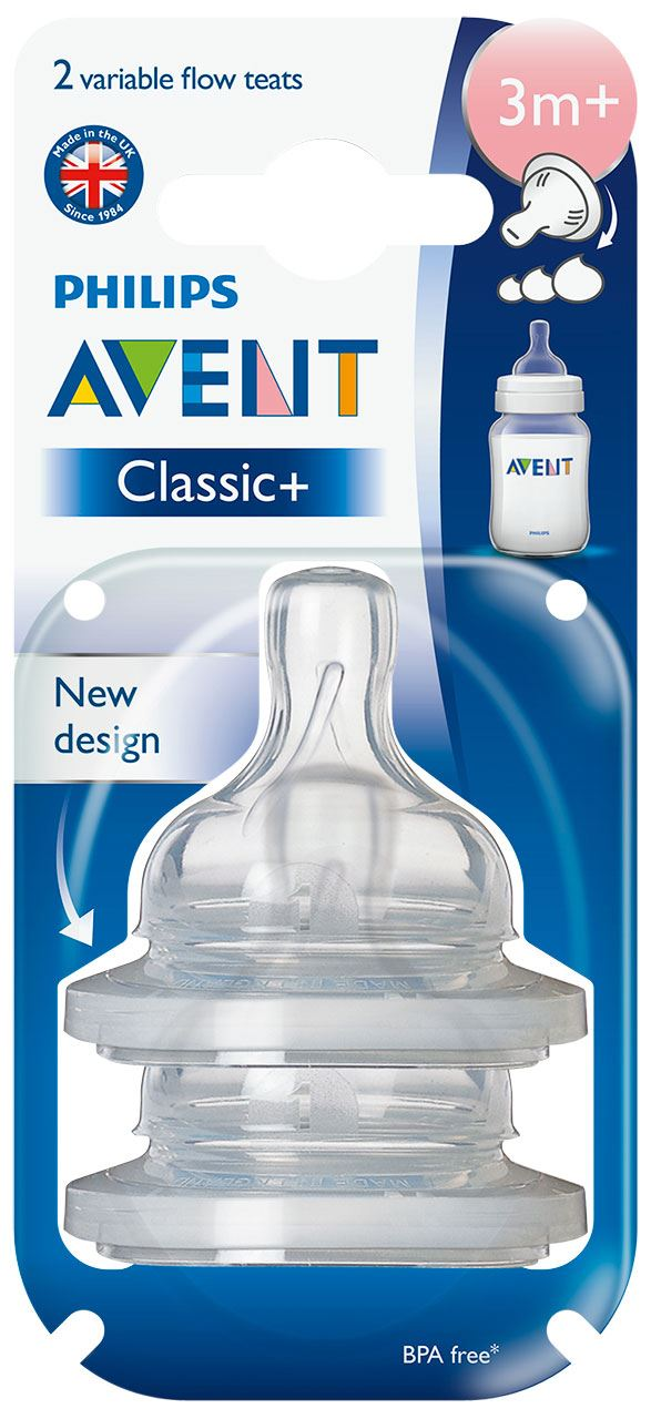Avent-CLASSIC-PLUS-SILICONE-TEATS-Baby-Bottle-Feeding-Accessory-BN thumbnail 20