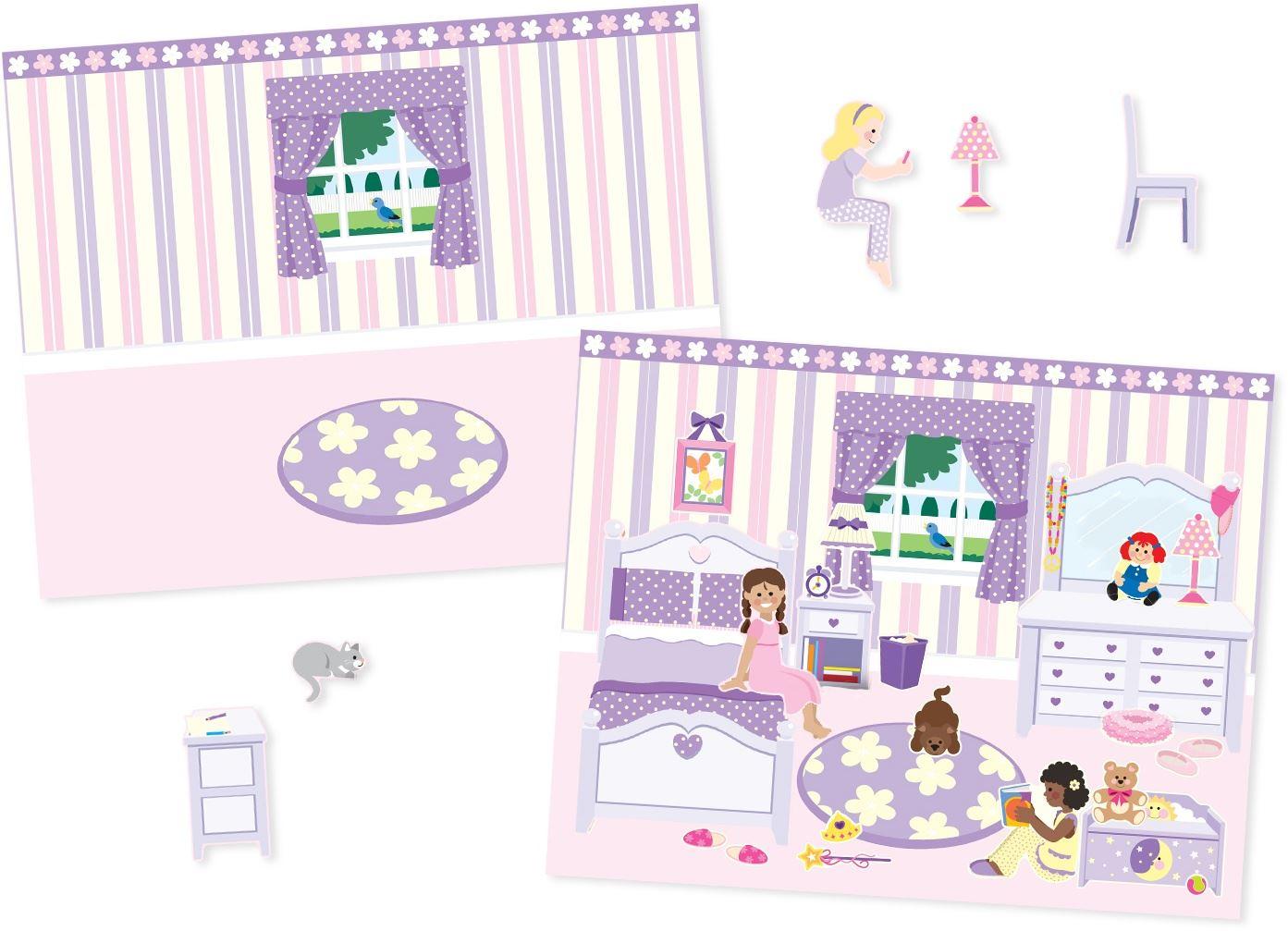 Melissa-amp-Doug-ALBUM-ADESIVI-RIUTILIZZABILI-Sticker-Libro-Bambino-Attivita-Nuovo miniatura 23