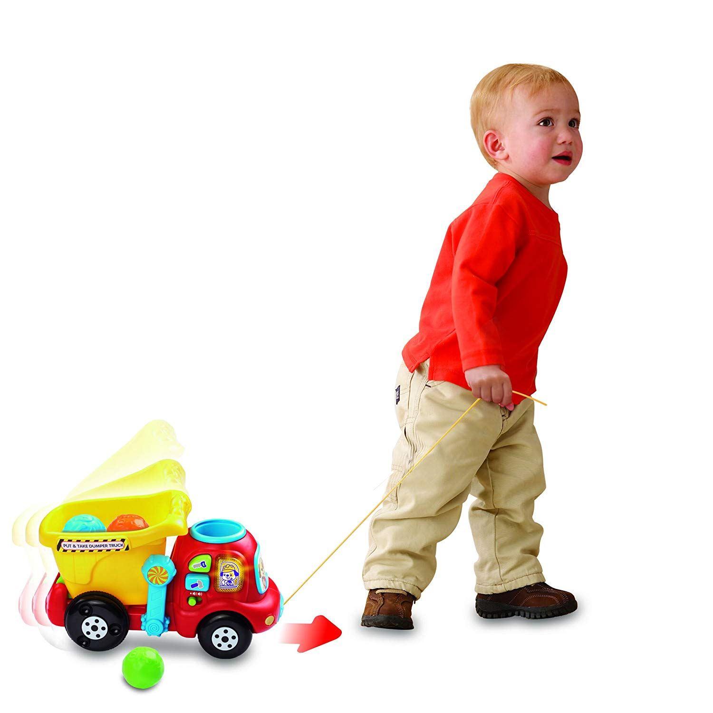 Vtech PUT & TAKE DUMPER TRUCK Educational Preschool Young ...