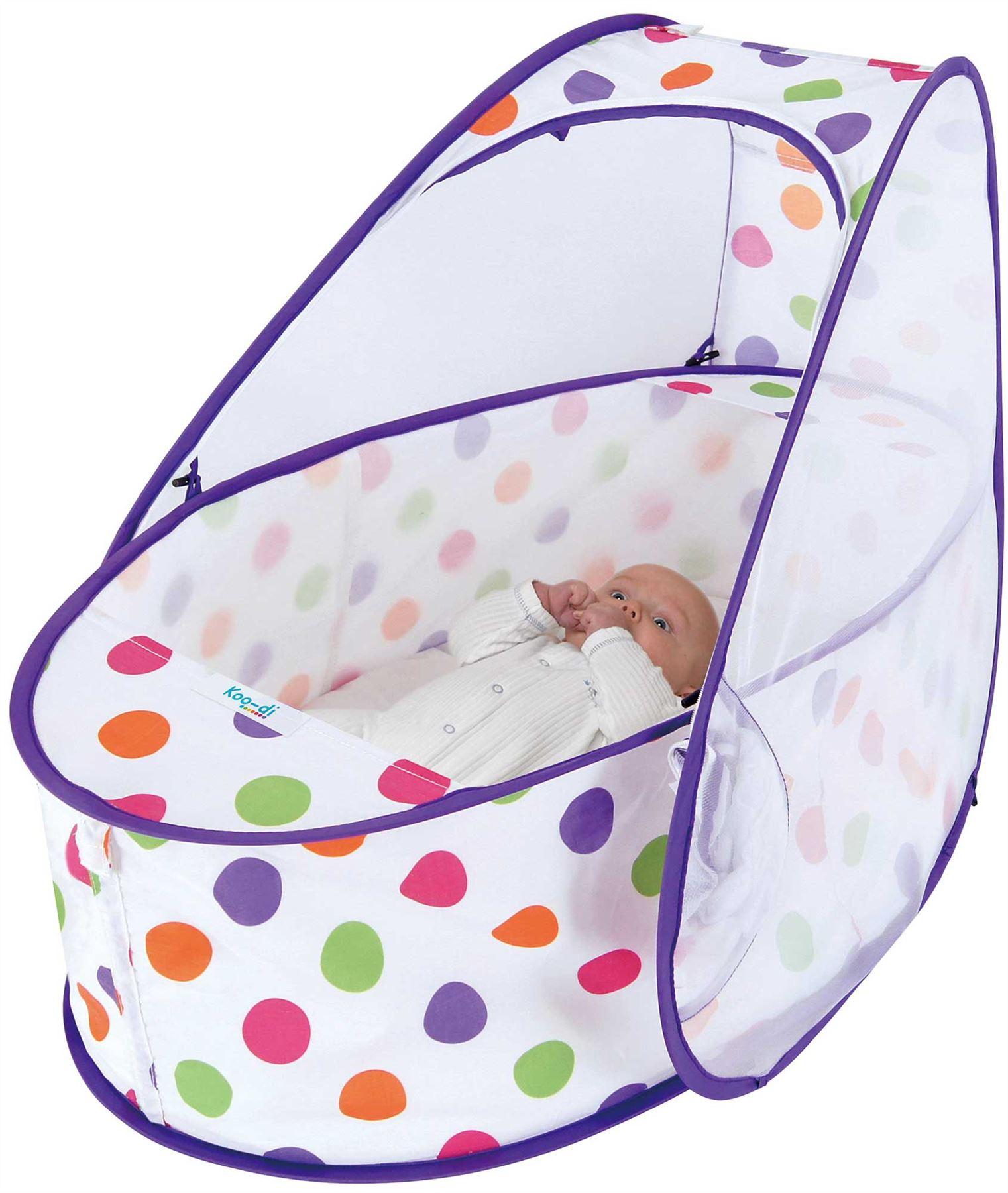 Koo-di-Pop-Up-da-Viaggio-Culla-Lettino-Baby-Bambino-a-letto-accessorio-di-viaggio-BN