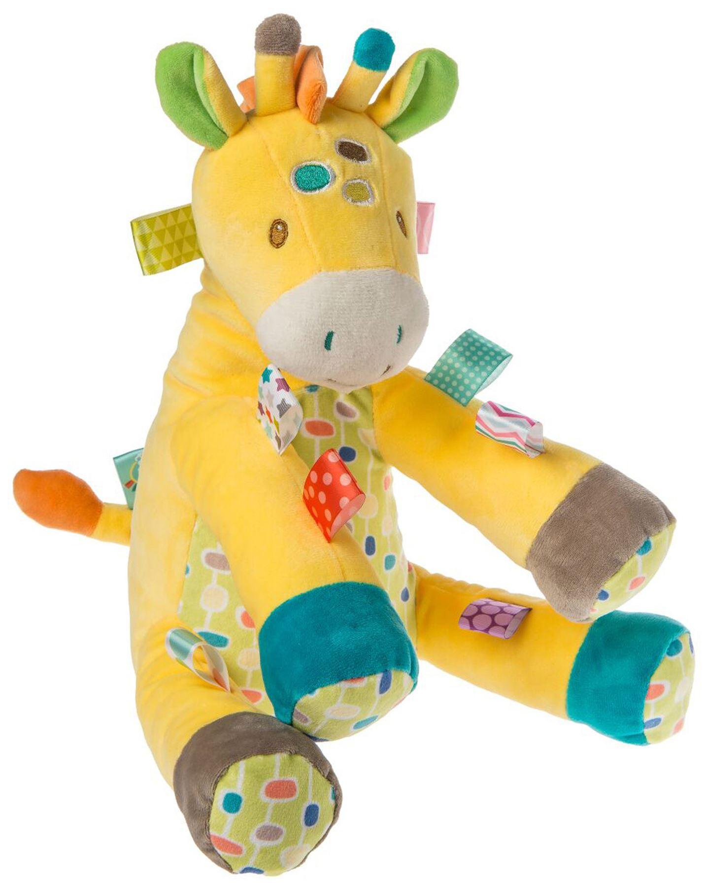 taggies gumdrops giraffe soft toy baby comforter soft toys activities bn 719771402257 ebay. Black Bedroom Furniture Sets. Home Design Ideas