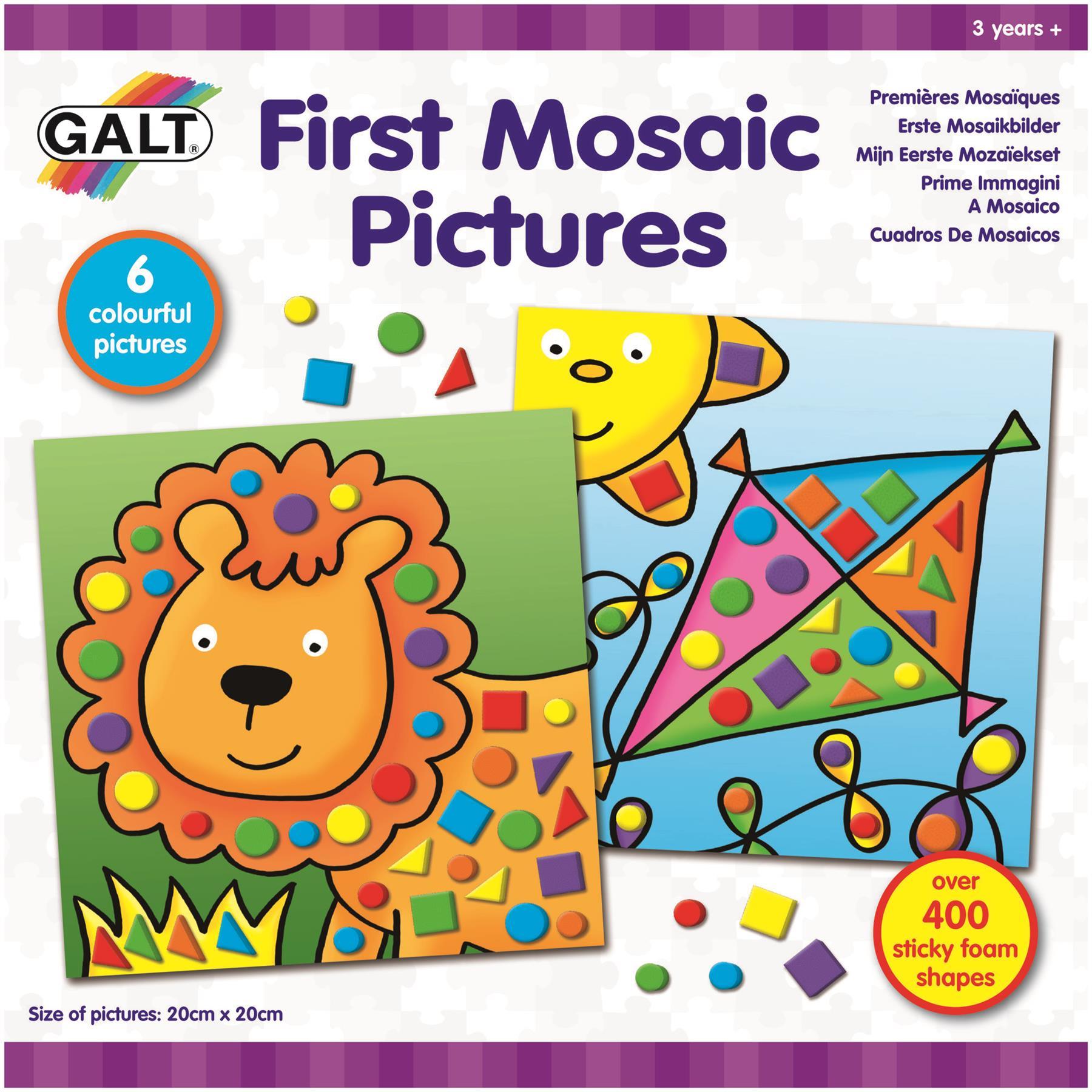Galt Coser caso Niños Art Craft Juguete BN